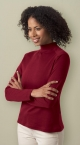 Promotional products: LADIES' INTERLOCK MOCK NECK