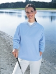 Promotional products: LADIES' M•I•C•R•O PLUS WINDSHIRT WITH TEFLON ®