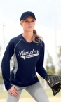 Promotional products: LADIES' ATHLETIC LONG SLEEVE SPORT TOP
