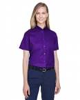 Promotional products:  NEW OPTIMUM CORE 365TM LADIES' SHORT SLEEVE TWILL SHIRTS
