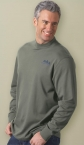 Promotional products: MEN'S INTERLOCK MOCK NECK