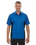 Promotional products: NEW FUSE MEN'S COLOR-BLOCK TWILL SHIRTS