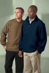 Promotional products: MEN'S M•I•C•R•O PLUS HALF-ZIP WINDSHIRT WITH TEFLON ®