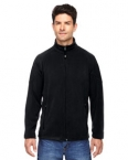 Promotional products: MEN'S MICROFLEECE UNLINED JACKET