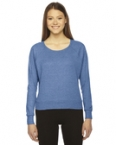 Promotional products: Ladies' Tri-blend Lightweight Raglan Pullover