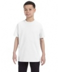 Promotional Gildan Heavy Cotton™ Youth 8.9 oz. T-Shirt (5000B) White-Natural