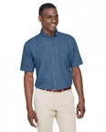 Promotional products: Men's 6.5 oz. Short-Sleeve Denim Shirt