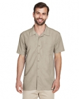 Promotional products: Men's Barbados Textured Camp Shirt