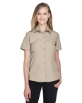 Promotional products: Ladies' Barbados Textured Camp Shirt