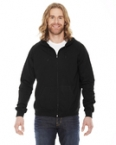 Promotional products: Unisex Fine Jersey Zip Hoodie