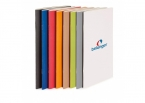 Promotional products: Saddle stitched eco notebook