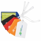 Promotional products: Polypro luggage tag
