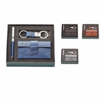 Promotional products: Fabrizio pen key ring & card holder gift set