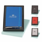 Promotional products: Marina & classico pen & journal gift set