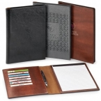 Promotional products: Fabrizio padfolio & refillable notepad