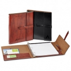 Promotional products: Fabrizio refillable portfolio/3'äìring binder