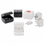 Promotional products: Gobbi travel adapter kit