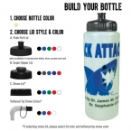 Promotional products: 32-oz. Glow Sports Bottle