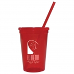 Promotional products: 16-oz. Jewel Tumbler w/ Lid & Straw