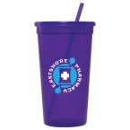 Promotional products: 32-oz. Jewel Tumbler w/ Lid & Straw
