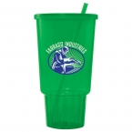 Promotional products: 32-oz. Jewel CarCup w/ Lid & Straw