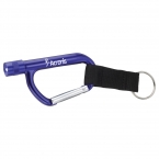 Promotional products: Flashlight Carabiner with Strap