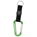 Promotional products: Carabiner with Compass