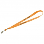 Promotional products: Lanyard with Bulldog Clip