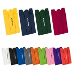 Promotional products: Silicone Phone Wallet with Stand
