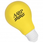 Promotional products: Light Bulb Stress Reliever