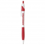 Promotional Cougar Rubber Grip Ballpoint Pen