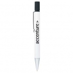 Promotional products: The Bruno Metal Pen-Highlighter