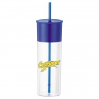 Promotional products: Color Band 22-oz. Tumbler with Straw
