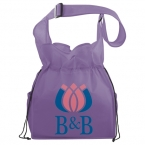 Promotional products: The Social Shoulder Cinch Tote