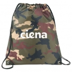 Promotional products: Camo Oriole Drawstring Sportspack