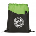 Promotional products: Rivers Non-Woven Drawstring Sportspack