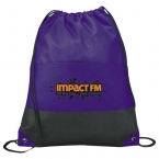 Promotional products: Coast Non-Woven Drawstring Sportspack