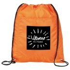 Promotional products: Amphitheater Insulated Drawstring Cooler