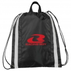 Promotional products: Small Reflective Drawstring Sportspack