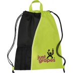 Promotional products: The Hitch Drawstring Cinch Backpack