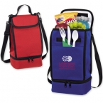 Promotional products: Dual Compartment Lunch Cooler