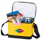 Promotional products: Out to Lunch 6 Can Cooler
