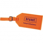 Promotional products: The Jubilee Felt Luggage Tag