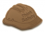 Promotional products: Think safety chocolate hard hat