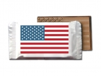 Promotional products: Small american flag bar