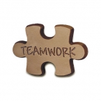 Promotional products: Teamwork puzzle piece