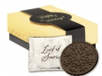 Promotional products: Holiday snowflake cookie gift boxes