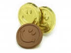 Promotional products: Smiley face coin