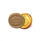 Promotional products: Pumpkin coins - stock design - no custom print