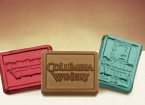 Promotional products: Foiled chocolate rectangles